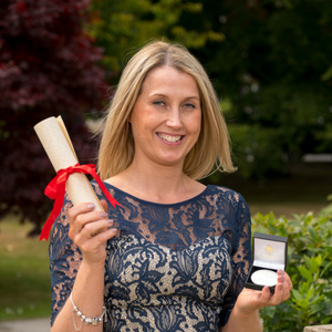 Learning disabilities nurse receives special award for her talents