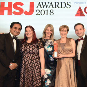 North East personality disorder team wins prestigious national healthcare award for patient safety