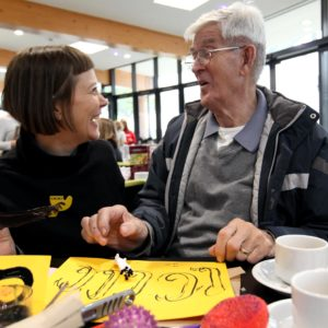 Newcastle memory clinic receives new grant for creative arts activities to support people living with dementia