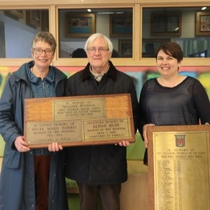A piece of Prudhoe history finds a new home