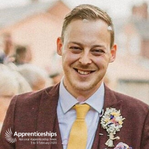 """I come to work each day knowing my work can really make an impact"" – Tom's story, National Apprenticeships Week 2020"