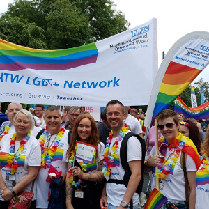 NHS staff find virtual ways to celebrate Pride