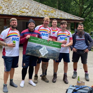 Rugby community raises £19,000 to help mental health ward revamp outdoor space