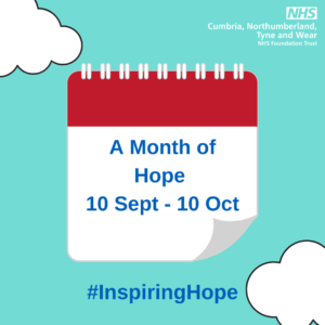 'Month of Hope' – Encouraging others to share their mental health coping strategies